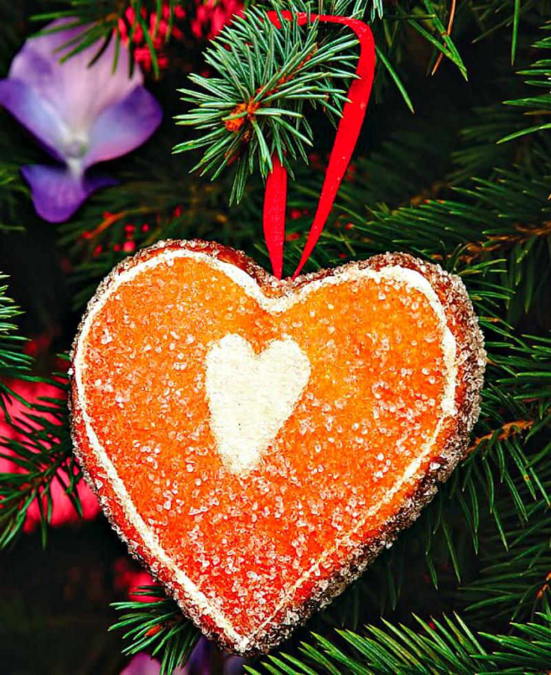 Украсьте ёлку рождественским печеньем