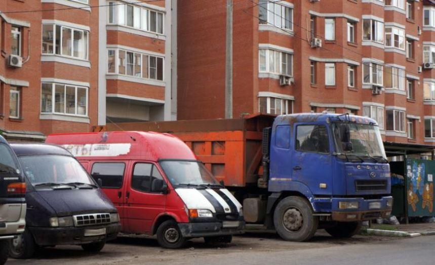 Запрет парковки спецмашин