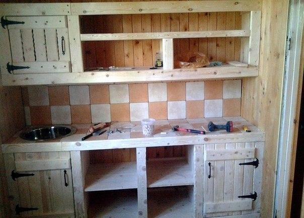 Сделать кухню своими руками фото