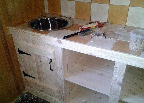 Как изготовить своими руками кухонный гарнитур