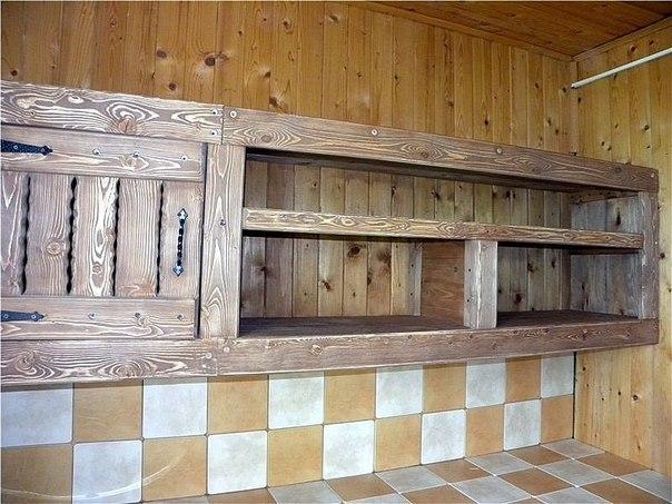 Кухня в старинном стиле - кухонный гарнитур