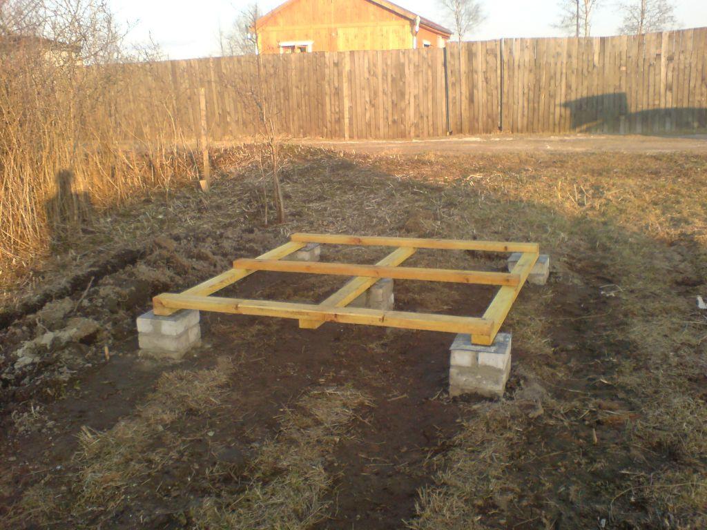 Строим фундамент для дачи своими руками