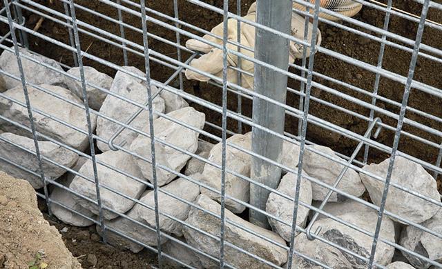 Забор из габионов своими руками пошаговая инструкция