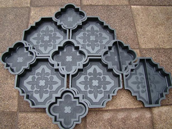 форма для тротуарной плитки фото