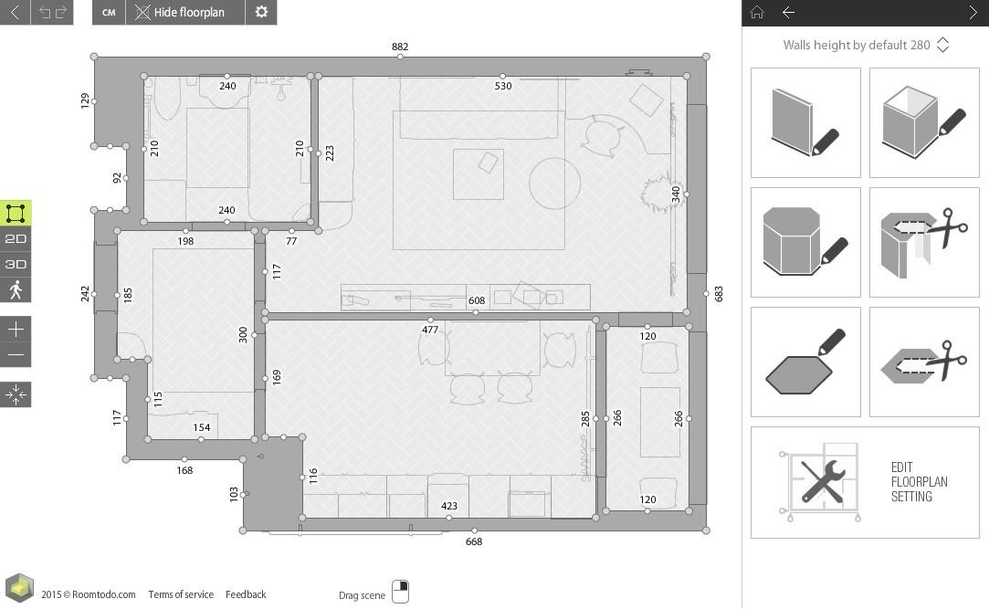 Программа для создания интерьера в квартире онлайн бесплатно