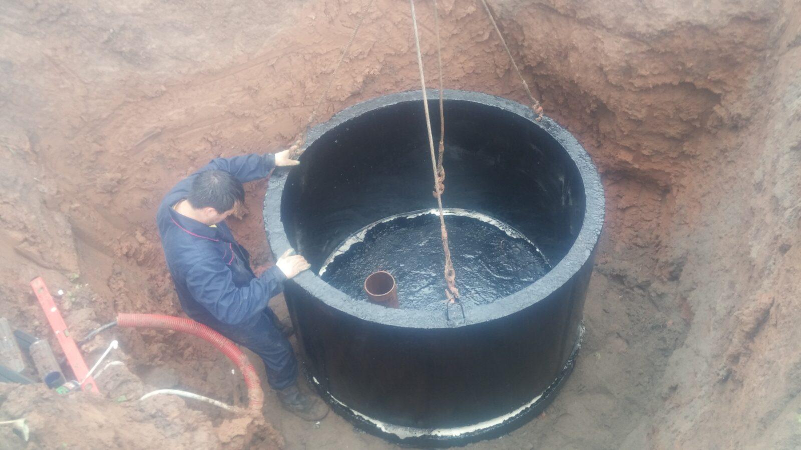 Как изготовить кессон для скважины своими руками из бетонных колец 81