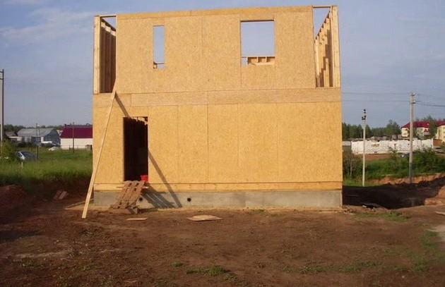 Фотоотчет строительство домов своими руками