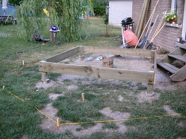 Строительство летней веранды своими руками 28