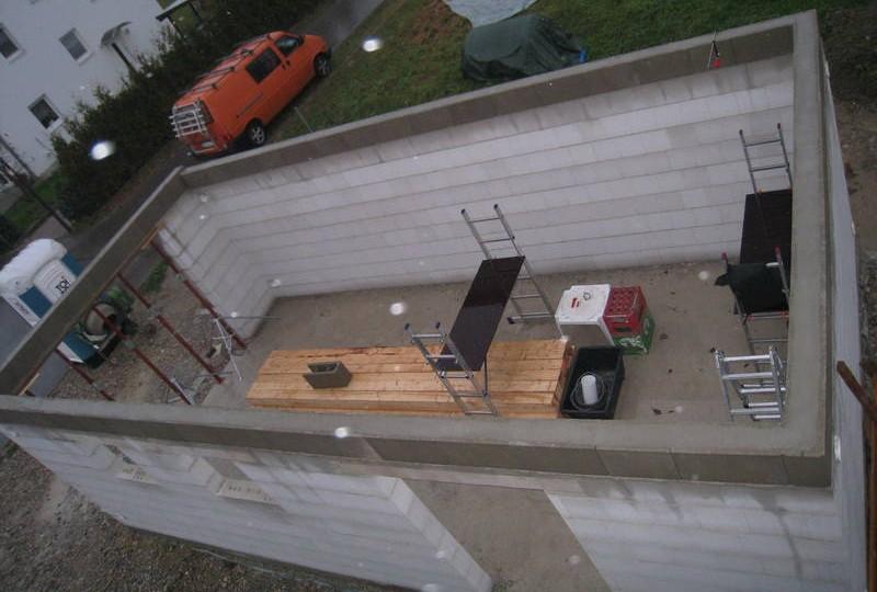 Монолитный гараж своими руками