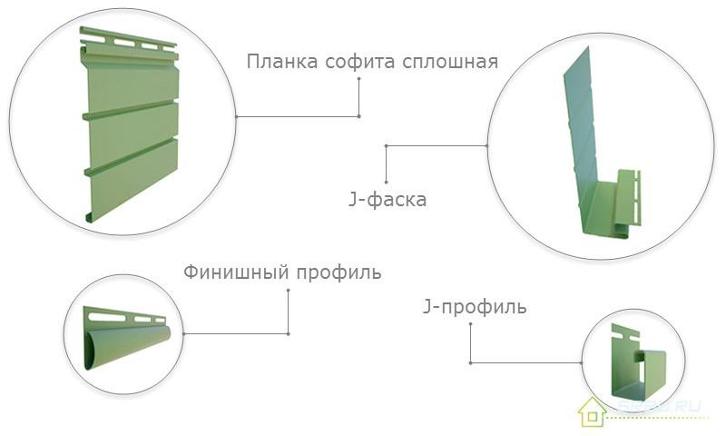Монтаж виниловых софитов своими руками 74