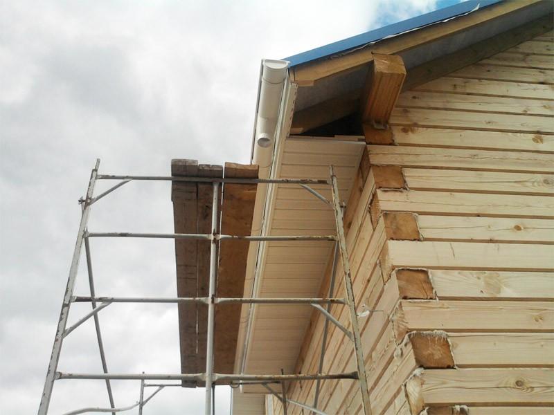 Крыша сайдингом своими руками 39