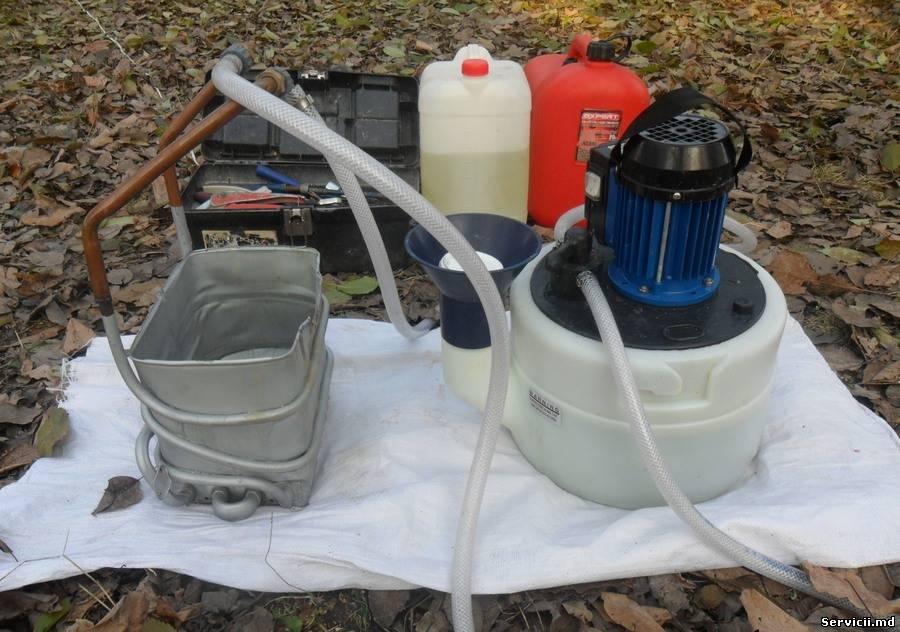 Ремонт теплообменников газовых котлов своими руками