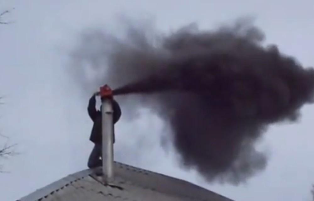 Как сделать чтобы из трубы шел дым 732